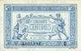 Billets Trésorerie aux Armées. Billet. 50 cmes, 1917, série Q