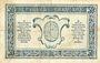 Billets Trésorerie aux Armées. Billet. 50 cmes, 1919, série T