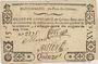 Billets Pont-du-Château. Billet de confiance de 15 sous n. d., 3 signatures