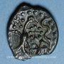 Münzen Carnutes (région de Chartres) (2e moitié du 1er siècle av. J-C). Bronze à l'aigle et à l'aiglon