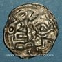 Coins Charlemagne (768-814). Obole bractéate. Melle