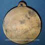 Coins Alsace. 20e circuit du Kochersberg. Les randonneurs de Strasbourg. 1987. Médaille bronze. 50 mm