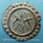 Coins Alsace. Abbaye de Murbach et Lure. Colomban d'Andlau (1663-64). Pfennig. Guewiller
