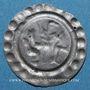 Coins Alsace. Abbaye de Murbach et Lure. François-Egon de Furstenberg (1665-1682). Pfennig. Guebwiller