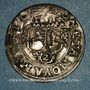 Coins Alsace. Abbaye de Murbach et Lure.Léopold Guillaume (1626-1662). 2 batz 1631. Guebwiller
