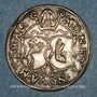 Coins Alsace. Abbaye de Murbach et Lure. Léopold V d'Autriche (1614-1626). 12 kreuzer. Guebwiller