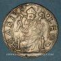 Coins Alsace. Abbaye de Murbach et Lure. Léopold V d'Autriche (1614-1626). 2 batz 1624, Guebwiller