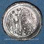 Coins Alsace. Abbaye de Seltz. Denier (vers 1130-1150)