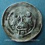 Coins Alsace. Abbaye de Seltz. Denier (vers 1170-1190)