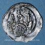 Coins Alsace. Abbaye de Seltz. Denier (vers 1190-1220)