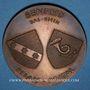 Coins Alsace. Benfeld. Semaine des P.T.T. du Bas-Rhin. Médaille bronze. 50,13 mm