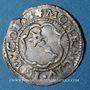 Coins Alsace. Colmar. 2 kreuzers n. d., à la titulature de Rodolphe II (1576-1612)
