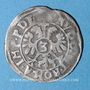 Coins Alsace. Colmar. 3 kreuzers n. d., à la titulature de Rodolphe II (1576-1612)
