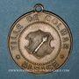 Coins Alsace. Colmar. Cavalcade de bienfaisance. 1882. Médaille laiton. 29,5 mm, avec œillet