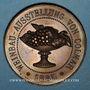 Coins Alsace. Colmar. Congrès viticole. 1885. Médaille cuivre. 38,6 mm.