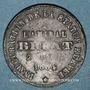 Coins Alsace. Colmar. Inauguration de la statue de Bruat. 1864. Médaille en plomb