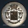 Coins Alsace. Colmar. Jardins et association viticole de Colmar. 1874. Médaille étain n. d. 51,28 mm