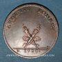Coins Alsace. Colmar. Nicolas de Corberon et Suzanne de Landreau. 1730. Jeton. Cuivre