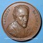 Coins Alsace. Ensisheim. Balde Jacob (1603-1668). Médaille bronze, 40,8 mm. Gravée par Neuss