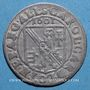 Coins Alsace. Evêché de Strasbourg. Charles de Lorraine (1592-1607). 3 kreuzers 1601S. Saverne