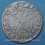 Coins Alsace. Evêché de Strasbourg. Charles de Lorraine (1592-1607). 3 kreuzers 1604S. Saverne
