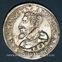 Coins Alsace. Evêché de Strasbourg. Charles de Lorraine (1592-1607). Teston 1605