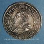 Coins Alsace. Evêché de Strasbourg. Charles de Lorraine (1592-1607). Teston 1606 S. Saverne