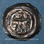 Coins Alsace. Evêché de Strasbourg. Conrad de Lichtenberg (1273-1299). Denier. Châtenois