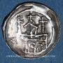 Coins Alsace. Evêché de Strasbourg. Epoque des Hohenstaufen (1138-1220). Denier. Strasbourg vers 1190-1284