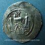 Coins Alsace. Evêché de Strasbourg. Epoque des Hohenstaufen (1138-1284). Denier. Strasbourg vers 1170-1190