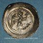 Coins Alsace. Evêché de Strasbourg. Epoque des Hohenstaufen (1138-1284). Denier. Strasbourg vers 1190-1220
