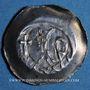 Coins Alsace. Evêché de Strasbourg. Epoque des Hohenstaufen (1138-1284). Denier. Strasbourg vers 1250-70