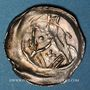 Coins Alsace. Evêché de Strasbourg. Epoque des Hohenstaufen (1138-1284). Denier. Strasbourg (vers 1250-70)