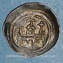 Coins Alsace. Evêché de Strasbourg. Epoque des Hohenstaufen (1138-1284). Denier vers 1230-1250