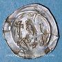 Coins Alsace. Evêché de Strasbourg. Epoque des Hohenstaufen (1138-1284). Denier vers 1230-50