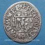 Coins Alsace. Evêché de Strasbourg. François Egon de Fürstenberg (1662-1682). 1 kreuzer R ! R !