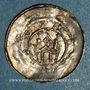 Coins Alsace. Evêché de Strasbourg. Henri I de Hasenberg (1181-1190). Denier