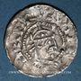 Coins Alsace. Evêché de Strasbourg. Henri II, roi (1002-1014). Denier