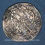 Coins Alsace. Evêché de Strasbourg. Jean de Manderscheid (1569-1592). 10 kreuzers ou zehner 1575. Molsheim