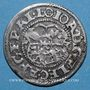 Coins Alsace. Evêché de Strasbourg. Jean de Manderscheid (1569-1592). 2 kreuzers 1573. Molsheim