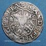 Coins Alsace. Evêché de Strasbourg. Jean de Manderscheid (1569-1592). 2 kreuzers 1577. Molsheim