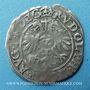 Coins Alsace. Evêché de Strasbourg. Jean de Manderscheid (1569-1592). 2 kreuzers 1579. Molsheim