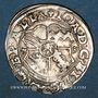 Coins Alsace. Evêché de Strasbourg. Jean de Manderscheid (1569-1592). 3 kreuzers 1573. Molsheim
