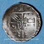Coins Alsace. Evêché de Strasbourg. Jean de Manderscheid (1569-1592). Pfennig 1573. Molsheim ou Saverne