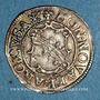 Coins Alsace. Evêché de Strasbourg. Léopold Guillaume (1625-1662). 2 kreuzers. Molsheim, (1627-1630).