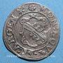 Coins Alsace. Evêché de Strasbourg. Léopold Guillaume (1625-1662). 2 kreuzers. Molsheim