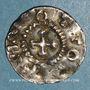 Coins Alsace. Evêché de Strasbourg. Otto III, roi (983-996). Denier