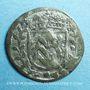 Coins Alsace. Hanau-Lichtenberg. Frédéric Casimir (1641-1685). 1 kreuzer 1681. Hanau. SM