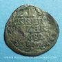Coins Alsace. Hanau-Lichtenberg. Frédéric Casimir (1641-1685). 1 kreuzer 1682. Hanau. SM