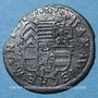 Coins Alsace. Hanau-Lichtenberg. Frédéric Casimir (1641-1685).  2 kreuzers 1654. Hanau. MG